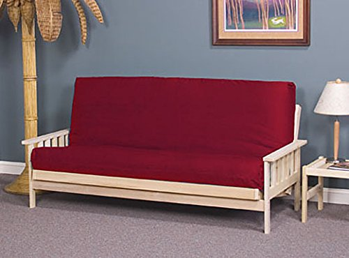 Full Size Savannah Futon Sofa Bed - Frame Only (Full Size Futon Sofa compare prices)
