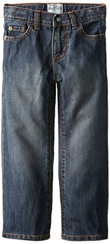 The Children's Place Little Boys' Bootcut Jean, Dust Bowl Wash, 7
