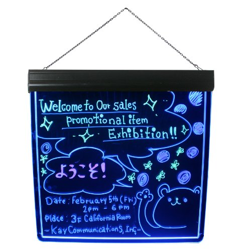 Lighted Writable Menu Board Led Message Board Display Billboard Led Trade Show Sign
