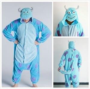 Sully Pyjamas- Halloween Winter Christmas Kigurumi PJ's (L (5.61 feet ~ 5.90 feet))