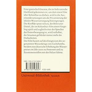 También la lluvia: Guión original de Paul Laverty. Spanischer Text mit deutschen Worterklärungen.