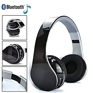 selectec foldable universal surround sound wireless stereo bluetooth headset headphone for. Black Bedroom Furniture Sets. Home Design Ideas