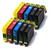 Epson WorkForce WF 2540WF x10 Compatible High Capacity Ink Cartridges 16XL