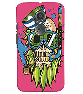Motorola Moto X (2nd Gen) MULTICOLOR PRINTED BACK COVER FROM GADGET LOOKS