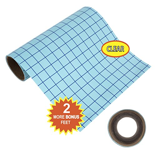 New clear transfer paper tape roll grid craft adhesive for Angel craft transfer tape
