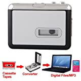 Mini USB Audio Cassette Tape Converter to MP3 CD Player PC