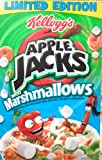 Kelloggs, Apple Jacks with Marshmallows, Limited Edition, 12.6oz Box (Pack of 4)