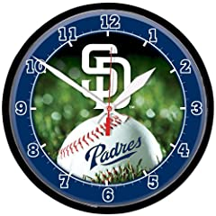 San Diego Padres Wall Clock by WinCraft