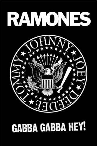 Poster Ramones - Logo - manifesto risparmio, cartellone XXL in formato 61 x 91.5 cm