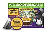 The ORGANIC COFFEE COMPANY BREAKFAST BLEND 24 ONE CUPS for Keurig K-Cup Brewers