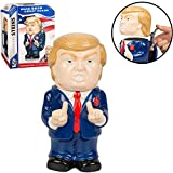 Donald-Trump-Ceramic-Collector-Stein-22oz-Figural-Mug-with-Lid-Make-Beer-Great-Again