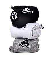 adidas Unisex Ankle Grip Socks - 3 pack
