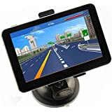 "CMTO 5"" Car GPS Navigation Touch Screen FM MP3 MP4 4GB New Map WinCE6.0"