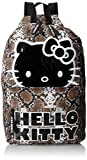 Hello Kitty Sublimation Snake Brown and White Backpack 16