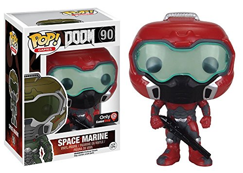 Funko Pop! Games DOOM Elite Space Marine #90 (Exclusive)