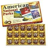 [アメリカお土産]アメリカ自然公園マカデミアナッツチョコレート1箱(アメリカ土産・海外土産)