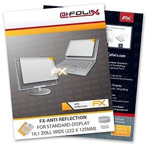 FoliX FX-Antireflex - Protector antirreflejos para pantallas estándar de 10,1 pulgadas (222 x 125 mm)