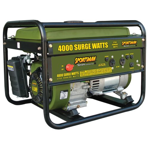 Sportsman GEN4065 4,000-Watt 6.5 HP Portable Generator