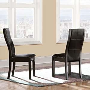 amazon com dining room chairs kitchen chairs