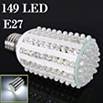 Big Bargain E27 7W 149 LED Bianco fre...