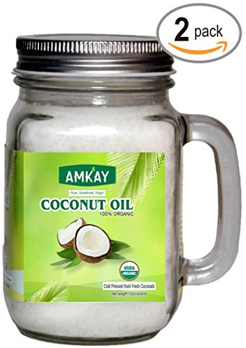 2-pack-total-30-oz-organic-extra-virgin-cold-pressed-unrefined-coconut-oil-in-glass-jars-for-cooking