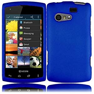 For Sprint, Virgin Mobile Kyocera Rise C5155 Accessory - Blue Hard