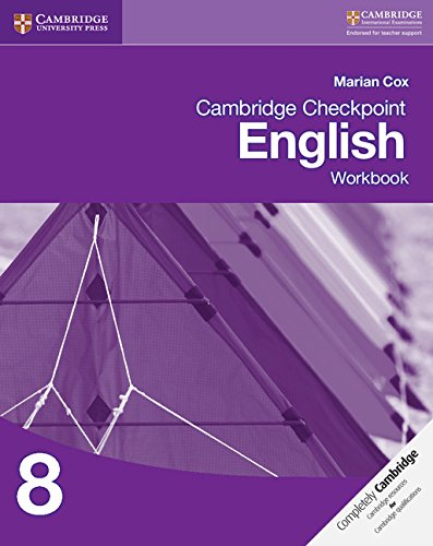 Cambridge Checkpoint English Workbook 8 (Cambridge International Examinations)