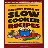 Biggest Book of Slow Cooker Recipes (Better Homes & Gardens) ~ Better Homes and Gardens