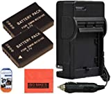 Big Mike'S Pack Of 2 Dmw-Bcg10 Batteries And Battery Charger For Panasonic Lumix Dmc-Zs5 Dmc-Zs7 Dmc-Zs8 Dmc-Zs9 Dmc-Zs10 Dmc-Zs15 Dmc-Zs19 Dmc-Zs20 Dmc-Zs25 Dmc-Tz6 Dmc-Tz7 Dmc-Tz8 Dmc-Tz10 Dmc-Tz18 Dmc-Tz19 Dmc-Tz20 Dmc-Zr1 Dmc-Zr3 Digital Camera + Mor
