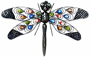 Premier BA122389 Dragonfly Wall Art by Premier Decorations Limited