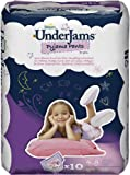 Pampers Underjams Size 7 Girl 10 Pants - Pack of 4