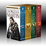 [Song of Ice & Fire 4v: A Game of Thrones, a Clash of Kings, a Storm of Swords, and a Feast for Crows by Martin, George R. R.]Author [Binding: Boxed Set ]
