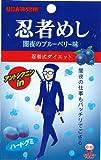 味覚糖 忍者めし闇夜のブルーベリー味 20g×10袋
