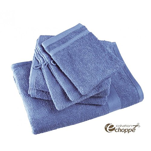 ECHOPPE - Lot de 12 gants de toilette coloris gauloise
