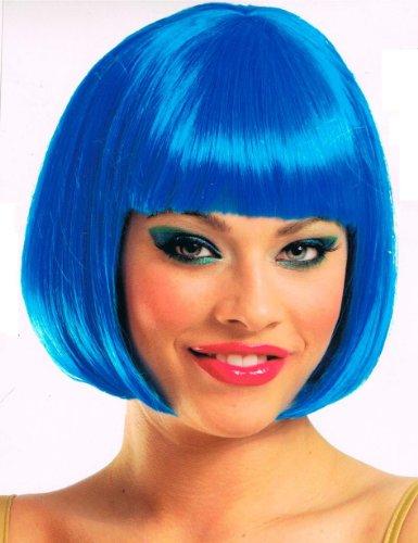 Supermodel Electric Blue Wig