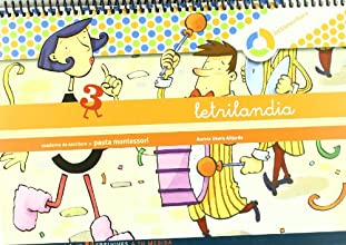 Letrilandia Lectoescritura cuaderno 3 de escritura (Pauta Montessori) (A tu medida (Entorno lógica matemática))