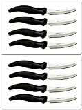 MIRACLE BLADE SteakKnives Eight STEAK KNIVES (8 steak knives)