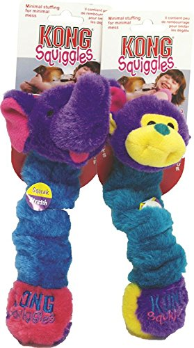 KONG Squiggles Small Dog Toy (Colors vary)