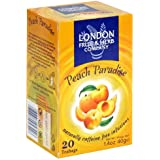 London Fruit & Herb Company Peach Paradise Tea, 20 Count