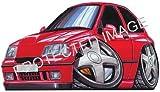 Koolart Car Tax Disc Holder Renault Clio