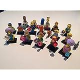 Lego Simpsons Serie 2 71009 Minifiguren: Komplettsatz alle 16 Figuren