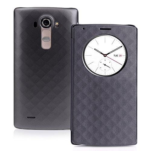 [Coque LG G4] CHOETECH LG G4 Quick Circle Case LG G4 Coque avec Récepteur de QI Charge Sans Fil et Fenêtre d'Affichage Réveil / Sommeil Intelligente
