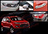 Premium Quality Chrome Plated Accessories For Ford Ecosport - Set Of 4 Pcs.