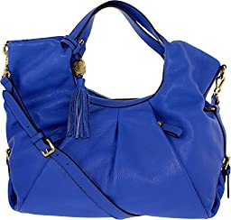 Vince Camuto Women\'s 5000 Leather Shoulder Hobo - Blue
