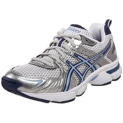 ASICS Women's GEL-260TR Training Shoe,White/Blue/Silver,8 M
