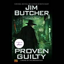 Proven Guilty: The Dresden Files, Book 8 (       UNABRIDGED) by Jim Butcher Narrated by James Marsters