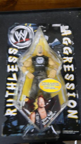 Ruthless Agression World Wrestling Entertainment Stone Cold Austin Figure Limited Edition - 1