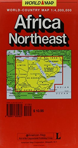 Africa - Northeast: Northeast World Map (Euro Carts and World Maps)