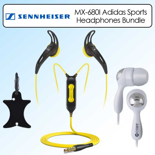 Sennheiser Mx680I Adidas Sports Ear Bud For Ipod In-Ear Bud Headphone