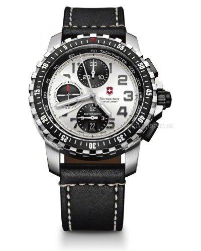 Victorinox 241450 - Reloj para hombres, correa de cuero color negro